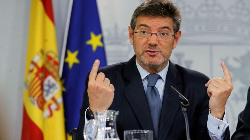 Foto: .- El ministro de Justicia, Rafael Catalá. (EFE)