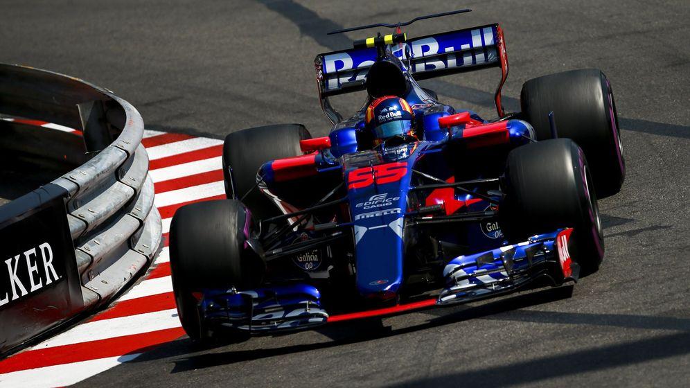 Foto: Carlos Sainz, durante la clasificación en Mónaco. (EFE)