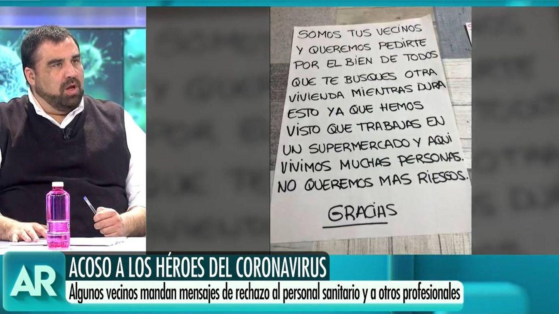 Daniel Montero, en 'El programa de Ana Rosa'. (Mediaset)