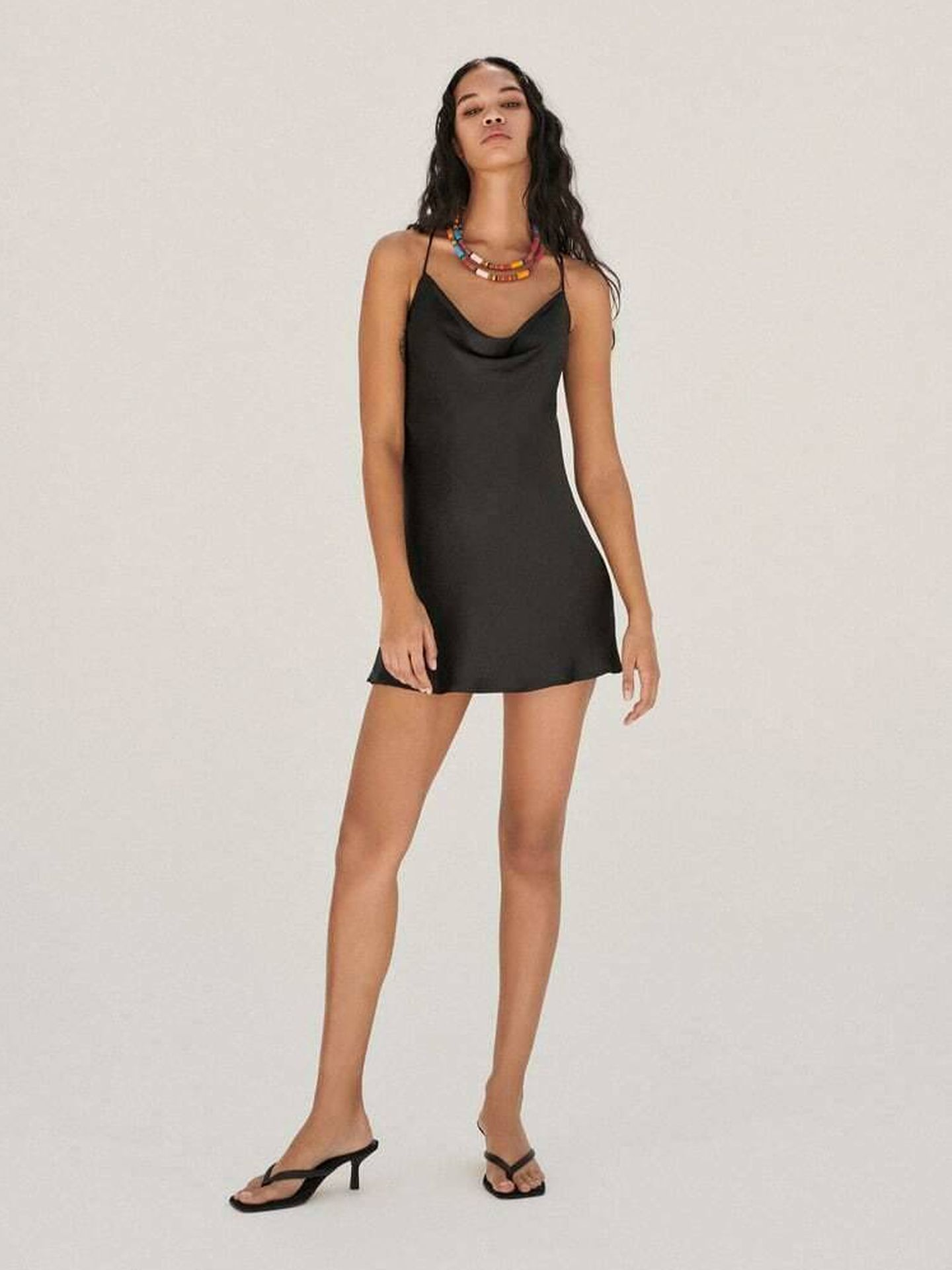 Un vestido de Zara. (Cortesía)