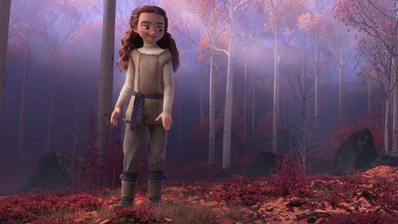 La chica misteriosa. (Disney)