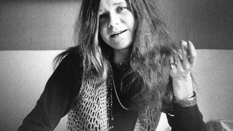 Janis Joplin, en una imagen de 1969. (Getty)