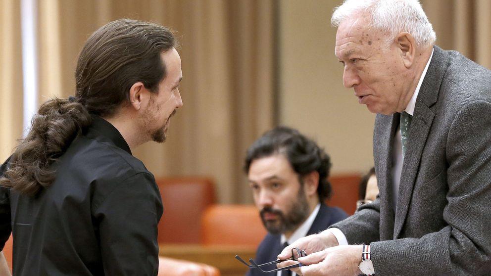 Margallo cree cerca la revolución de Iglesias:  Está ensayado al milímetro