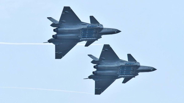 Foto: El caza chino J-20. (Reuters)