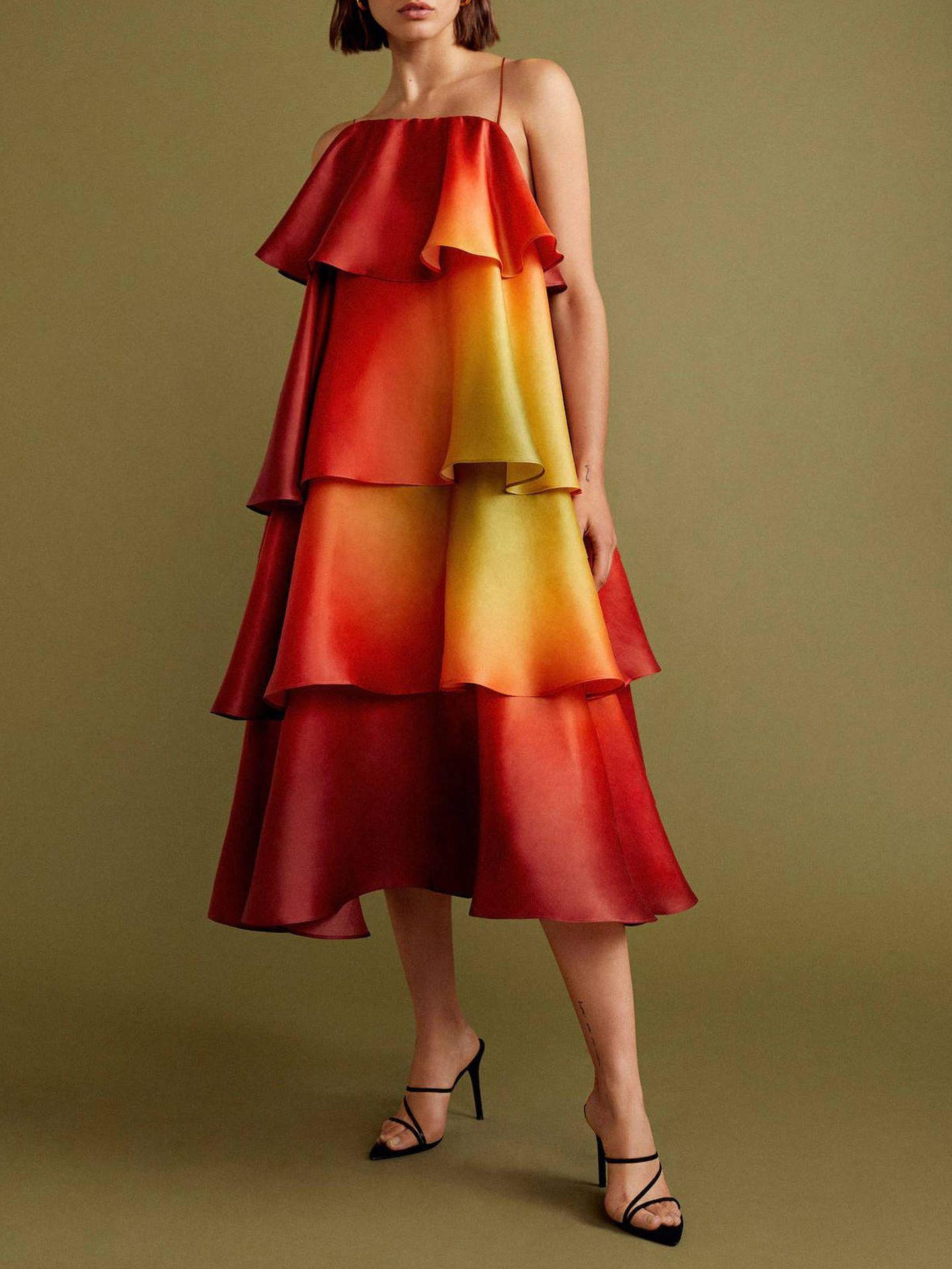 El vestido estrella de la Gala Collection de Mango.