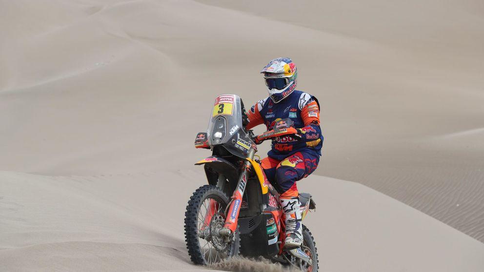 Es un animal. Cómo ganar el Dakar con la muñeca rota y llevarse un beso de Laia Sanz