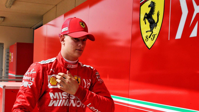 Mick, un hombre Ferrari. (Cordon Press)