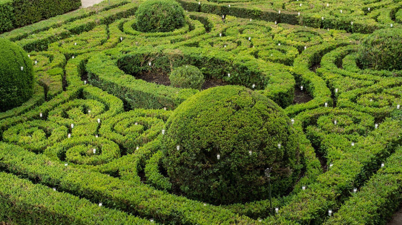 Los jardines de Liria, al estilo de Versalles. (Getty)