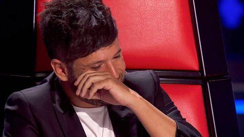 Pablo López se derrumba en la semifinal de 'La voz': Está siempre conmigo, tengo mucha suerte