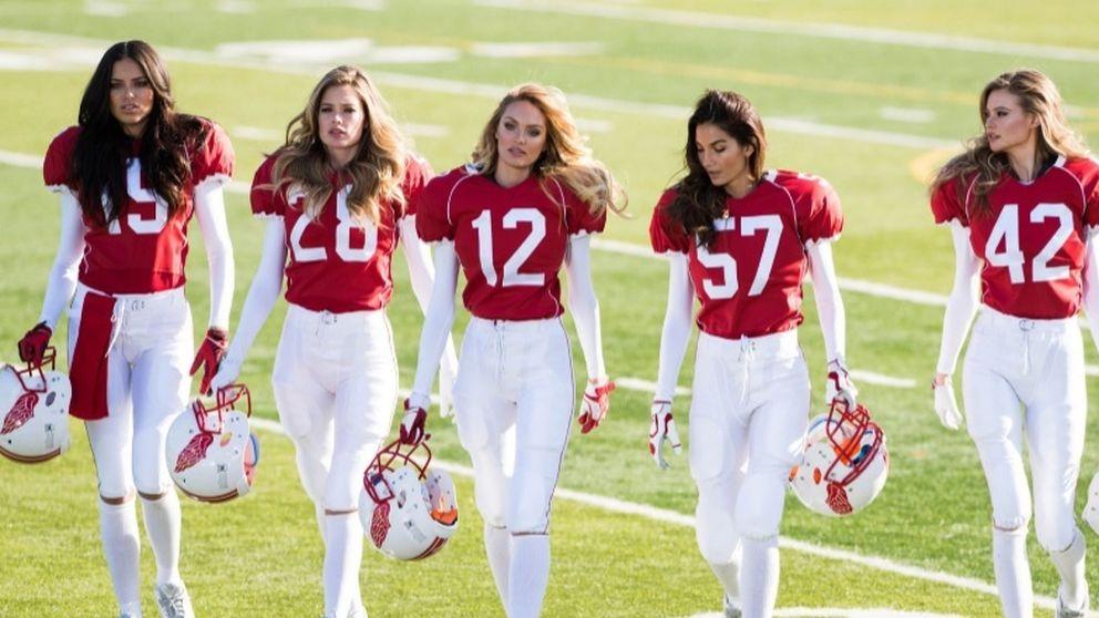 Los 'ángeles' de Victoria's Secret, listos para la Super Bowl más sexy