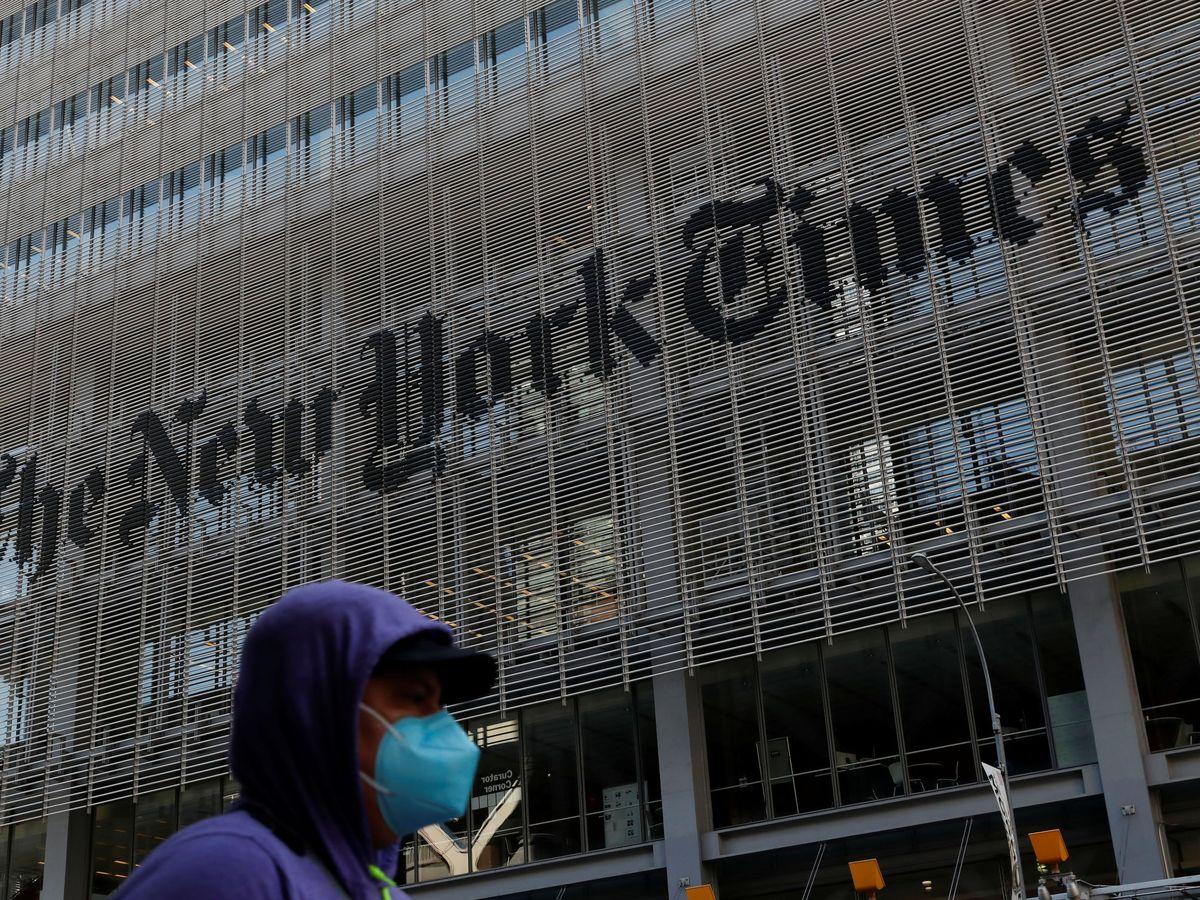 Foto: El edificio del 'New York Times', en Manhattan. (Reuters)