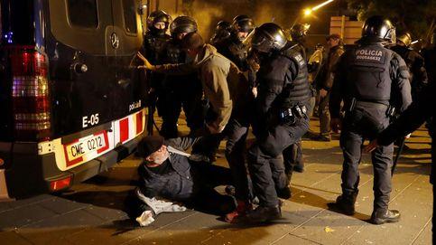 Las protestas ante el Camp Nou por el Clásico terminan con 9 detenidos y 60 heridos