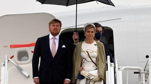 Máxima de Holanda pisa fuerte a su llegada a Alemania: todos los detalles de su look