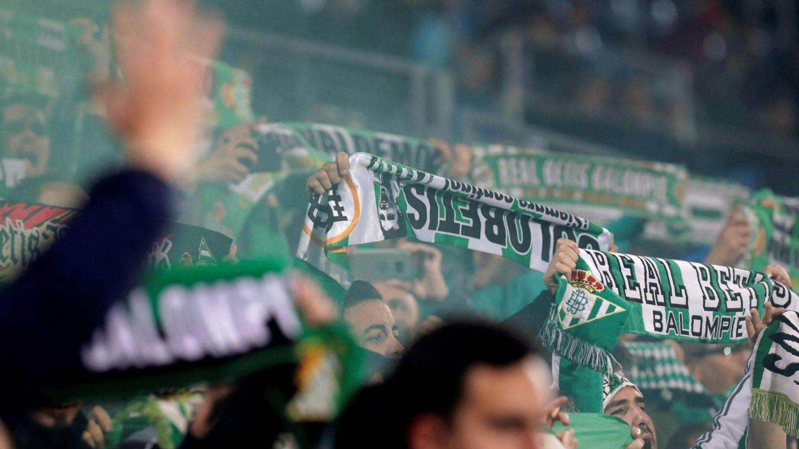 Foto: Aficionados del Betis - Archivo. (EFE)