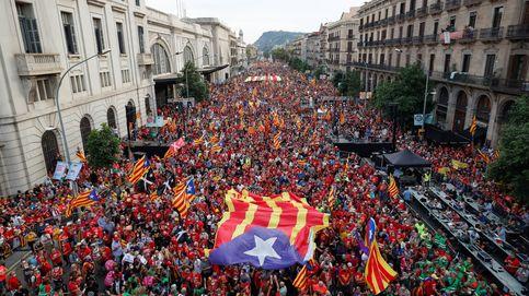 La manifestación de la Diada pide unidad al independentismo y desprecia los indultos