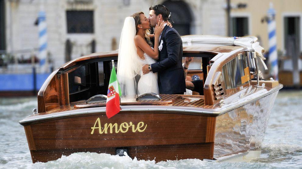 El hijo de Bárcenas pone la banda sonora en la boda de Morata y Alice Campello