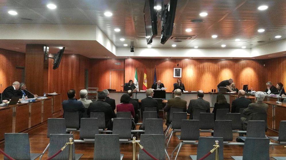 Foto: Imagen de la Audiencia durante el caso Hidalgo. (EP)