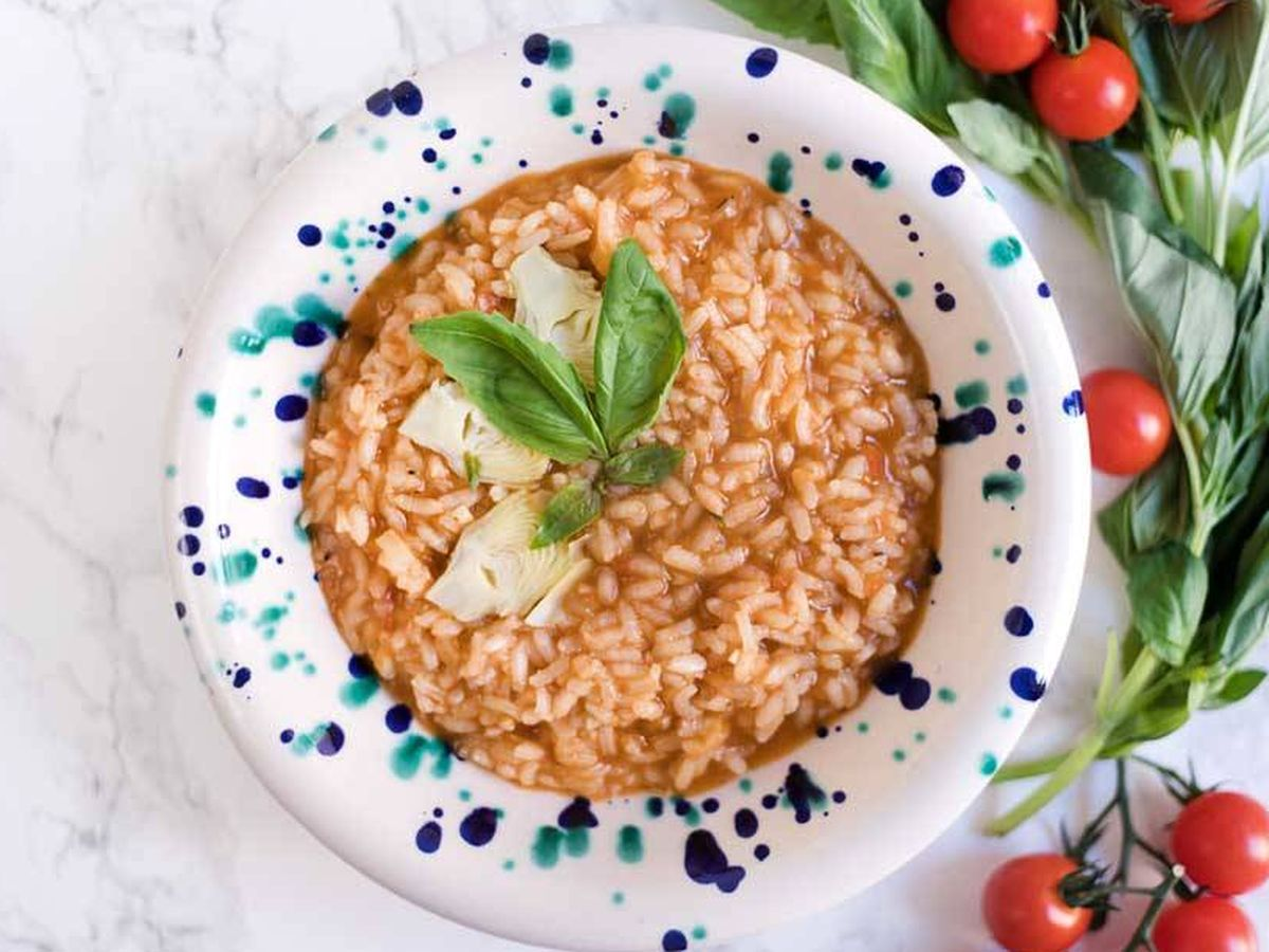 Foto: Risotto de tomate. (Snaps Fotografía)