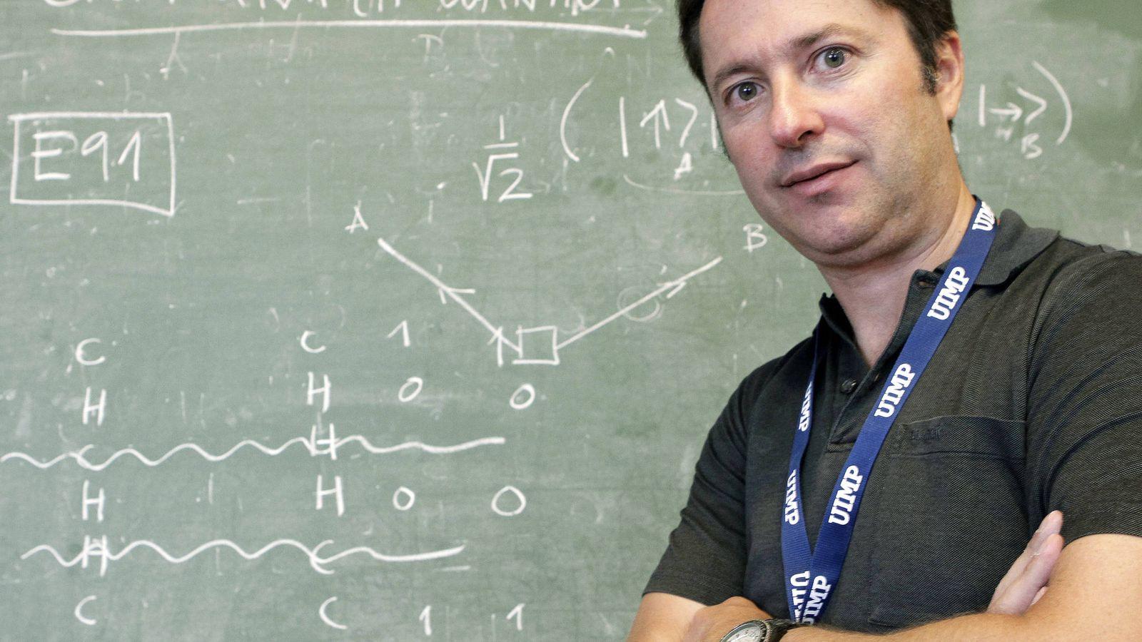 Foto: Juan Ignacio Cirac,  director de la División de Física Teórica del Instituto Max-Planck de Óptica Cuántica. (EFE)