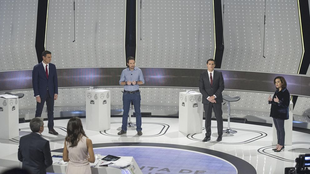 Las mentiras y las verdades del debate a cuatro entre PP, PSOE, C's y Podemos