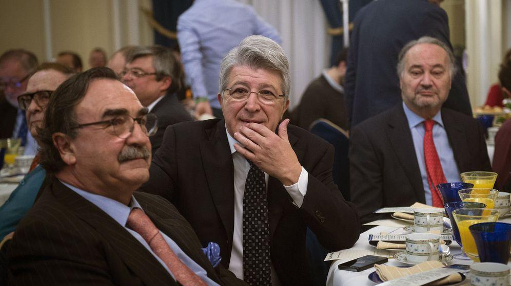 Foto: Enríque Cerezo, presidente del Atlético de Madrid y empresario audiovisual. (EFE)