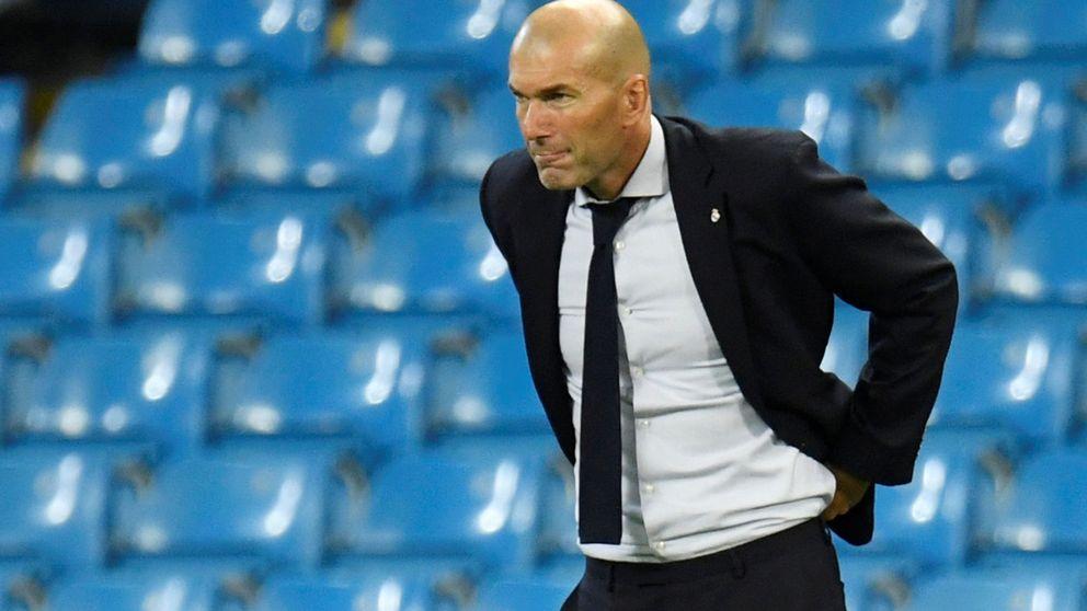 El calentón de Zidane cuando no sabe por dónde le llegan los tiros en el Real Madrid