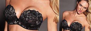 Victoria's Secret 'se olvida' de uno de los pechos de Candice Swanepoel