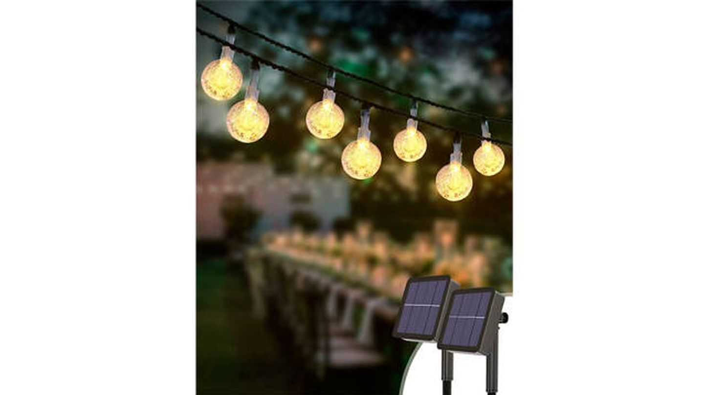 Luces LED Kolpop tipo guirnaldas de carga solar