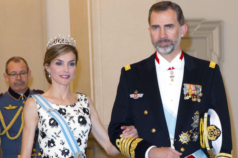 Foto: La cena de gala en honor a Margarita de Dinamarca, en imágenes