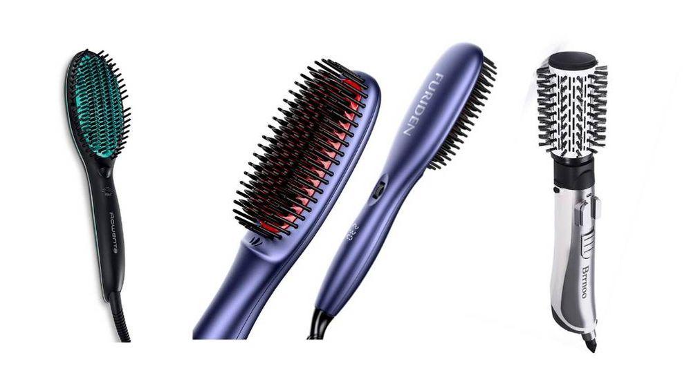 Foto: Cepillos iónicos para alisar el pelo fácilmente