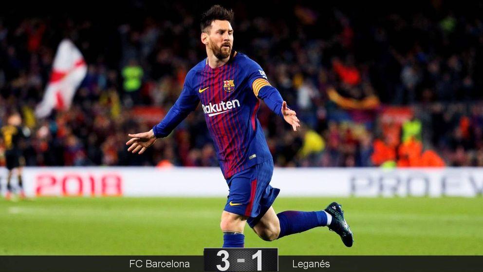 Todo lo que esconde el Barcelona detrás de la rutinaria exhibición de Leo Messi