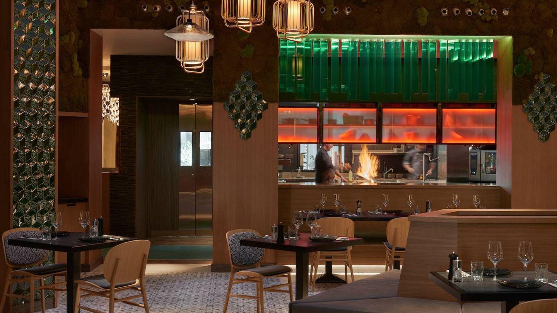 Hielo y Carbón es el restaurante de Hyatt Centric Madrid. (Imagen: Cortesía)