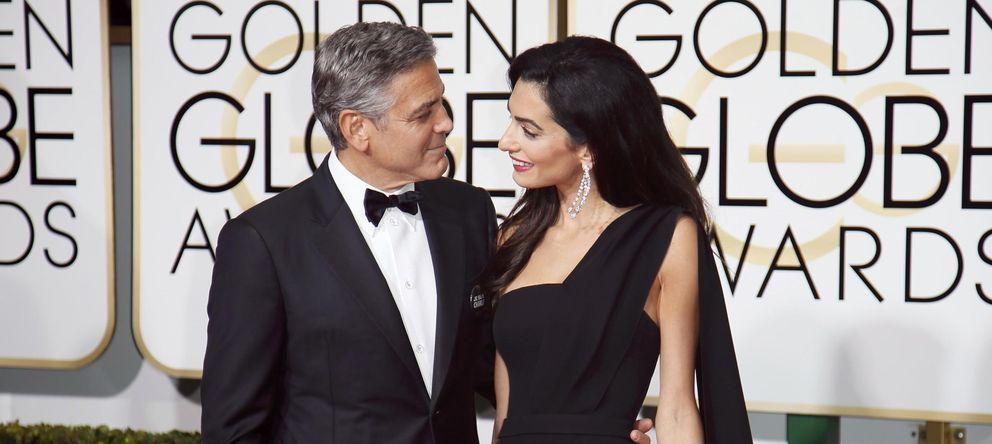 George Clooney a su mujer en los Globos de Oro: No puedo estar más orgulloso de ti