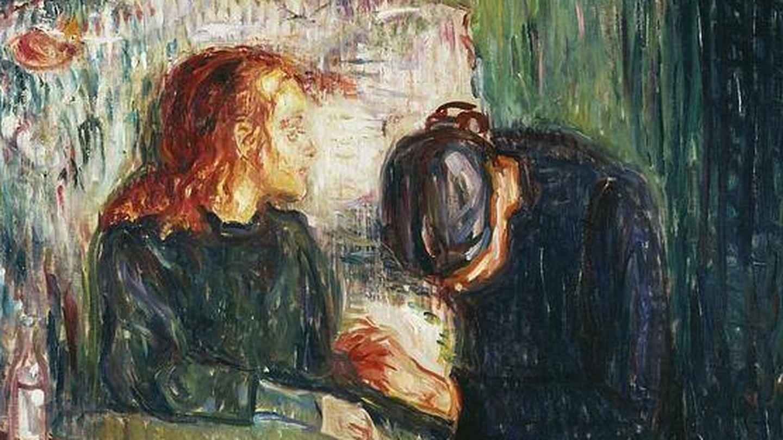'La niña enferma' de Edvard Munch.