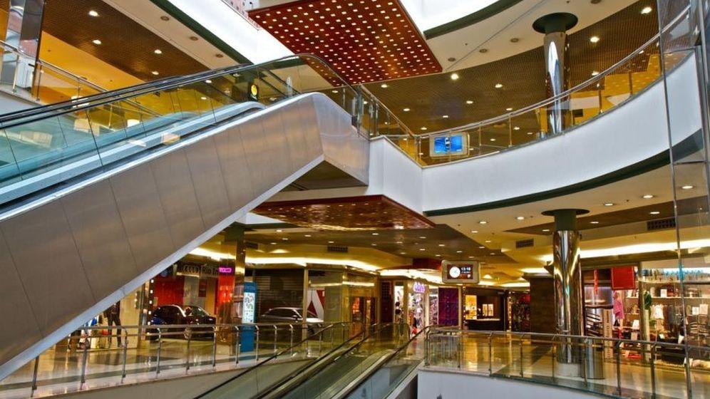 Foto: Centro Comercial Ánecblau, en Barcelona, adquirido por la socimi el año pasado.
