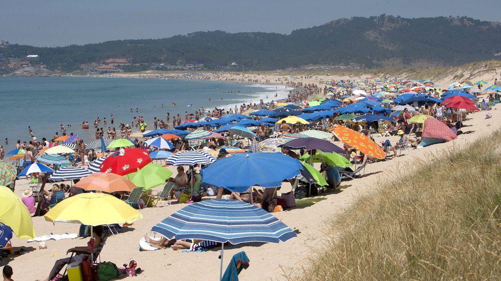Foto: Playa de Sanxenxo (EFE)