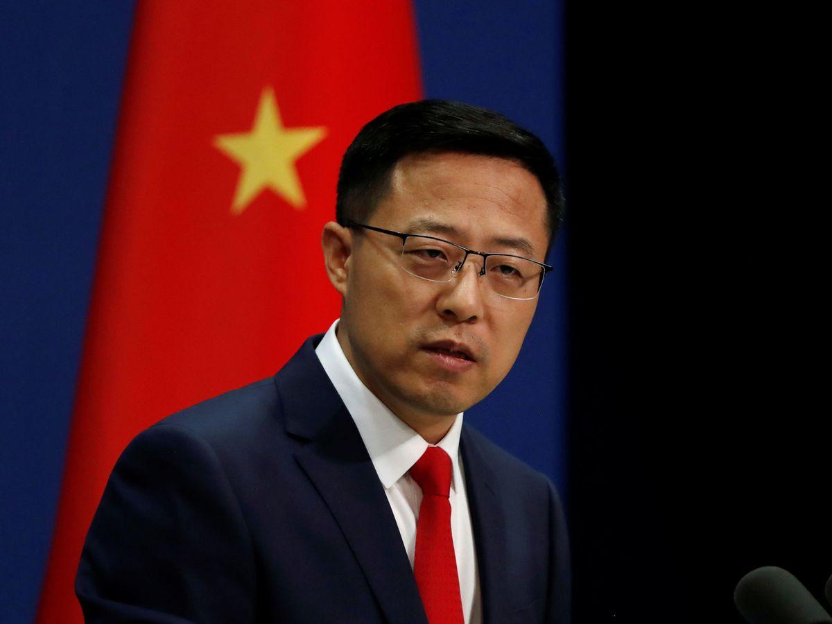Foto: Zhao Lijian, portavoz del Ministerio de Relaciones Exteriores de China. (Reuters)