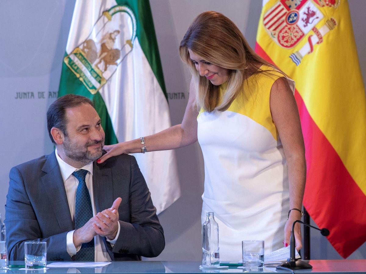 Foto: Susana Díaz y José Luis Ábalos. (EFE)