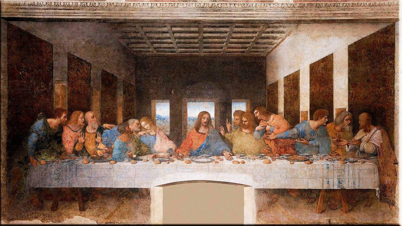 El pintor estuvo a punto de ser despedido durante el proceso de trabajo de 'La última cena'.