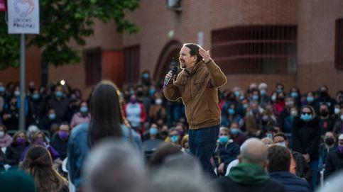 Iglesias volvió a Vallecas: una discoteca 'antifa' y demasiados poemas