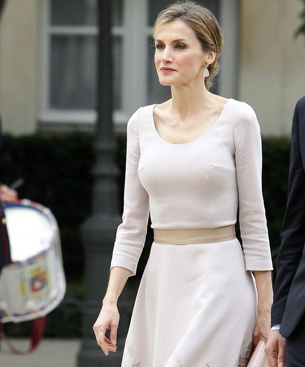 Foto: La Reina en su última visita a Francia (Gtres)