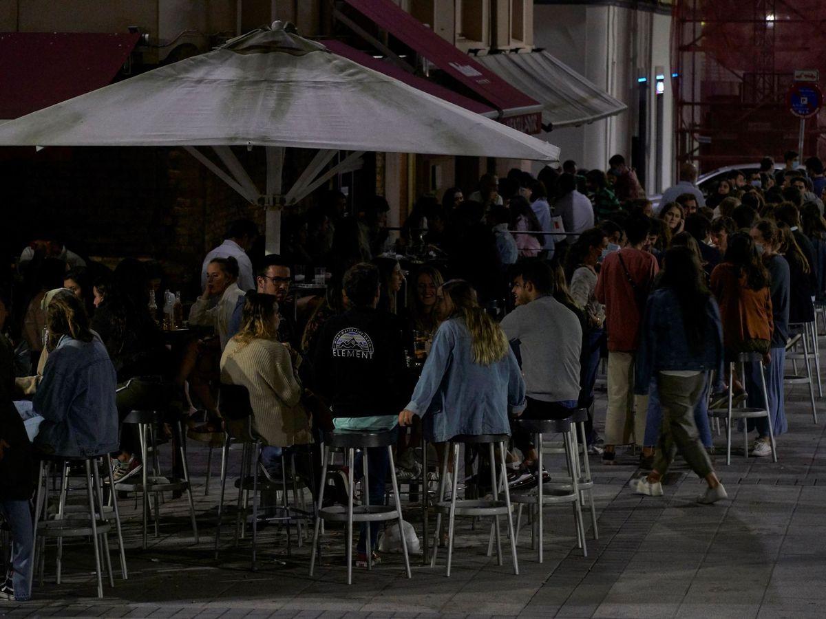 Foto: Bares de copas en Santander. (EFE)