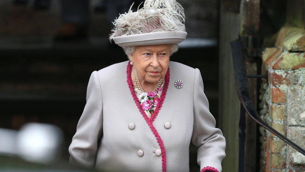 Foto: La reina durante una de sus últimas apariciones. (Getty)