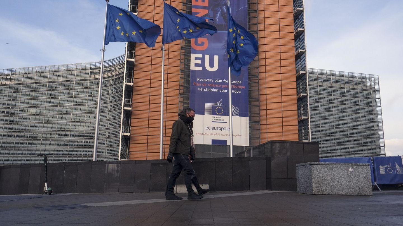 Sede de la Comisión Europea en Bruselas. (EFE)