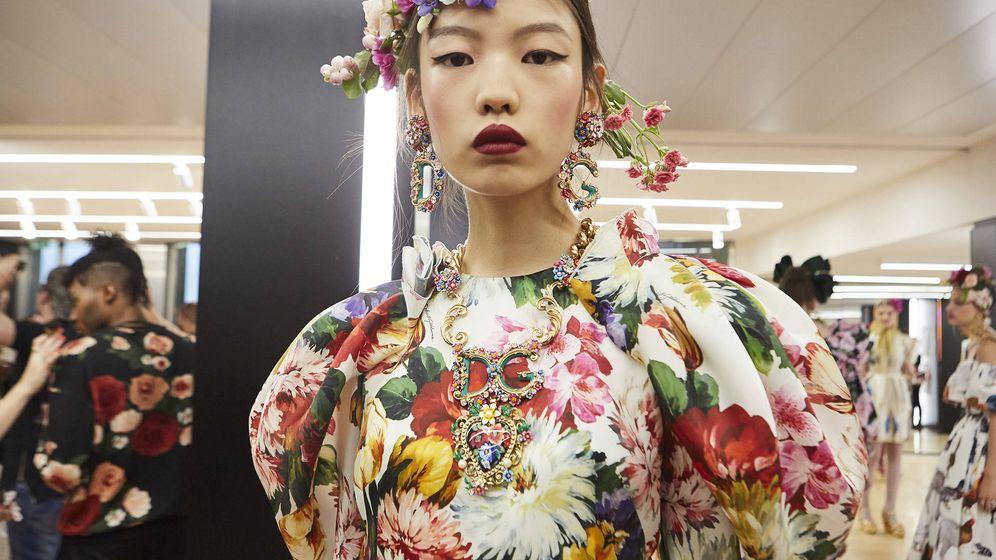 Foto: Backstage del último desfile de Dolce & Gabbana. (Cortesía de la marca)