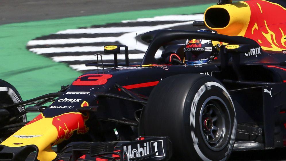 Foto: Daniel Ricciardo en el Gran Premio de Gran Bretaña la semana pasada. (EFE)
