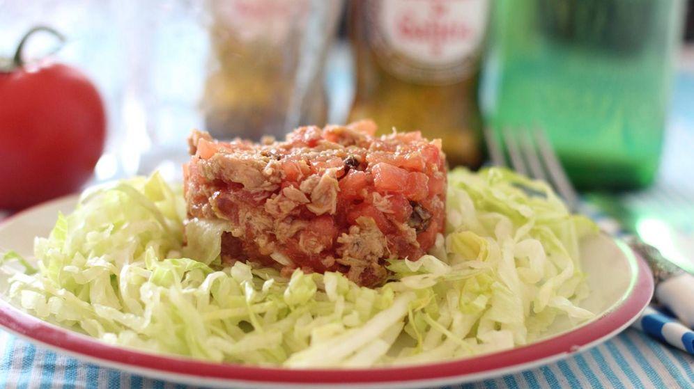 Foto: Tartar de tomate y atún (Mer Bonilla)