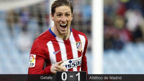 Fernando Torres se vuelve a enamorar del gol en el día más gris del Atlético
