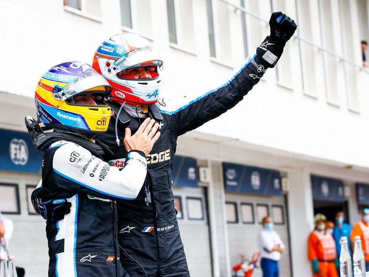 Foto: Esteban Ocon hizo historia con su triunfo para los pilotos franceses en la F1 y Alpine