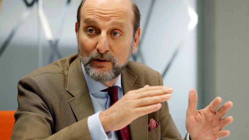 Foto: José Miguel Fernández Sastrón, presidente de la Sociedad General de Eutores de España (SGAE). Foto: EFE